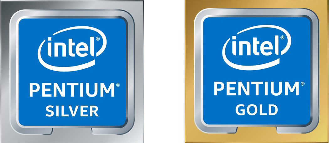 Pentium Gold & Silver