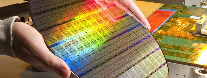 ویفیر سیلیکون پردازنده